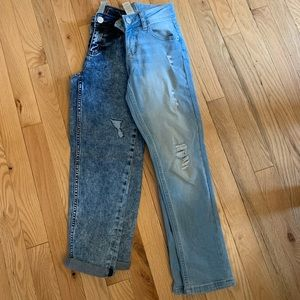 """Justice size 8 """"girlfriend """" jeans.  New without tags"""